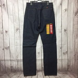 NWT Rustler Blue Jeans Mens 34x34 Act 34x35.5